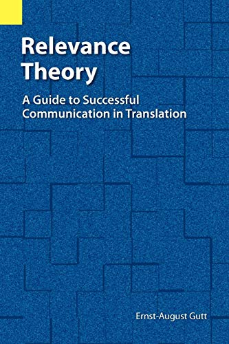 9780883128206: Relevance Theory Guide to Successful Communication in Transition