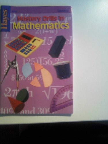 9780883130056: Mastery Drills in Mathematics : Grade 6 Parent/Teacher Guide