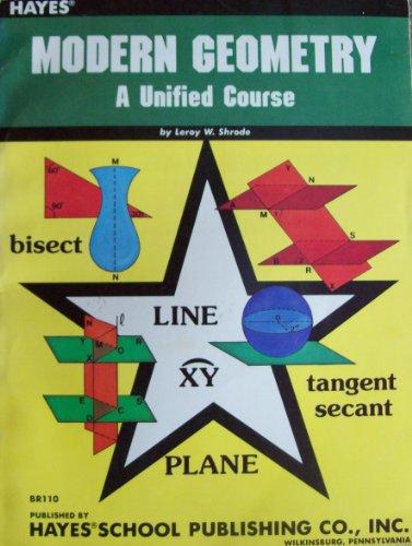 Benton's text-workbook in new modern geometry: A: Shrode, Leroy W