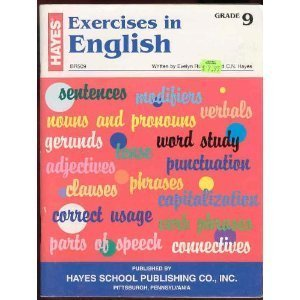 9780883130445: Exercises in English, Grade 9 (BR509)