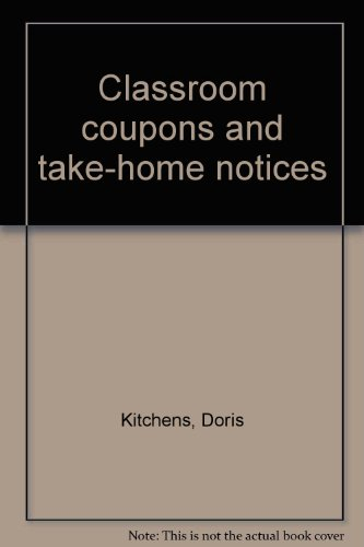 9780883135358: Classroom coupons and take-home notices