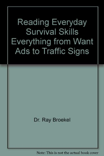 9780883138427: Reading Everyday Survival Skills Everything from Want Ads to Traffic Signs