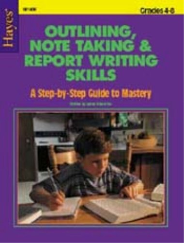 9780883138502: Outlining, note taking, and report writing skills: A step-by-step guide to mastery