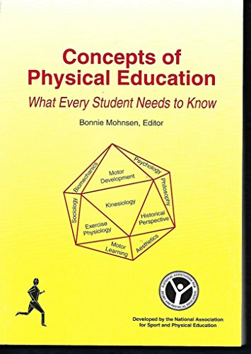 9780883149423: Concepts and Principles of Physical Education: What Every Student Needs to Know