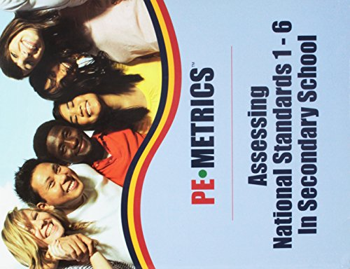 9780883149607: PE-Metrics: Assessing National Standards 1-6 in Secondary Schools