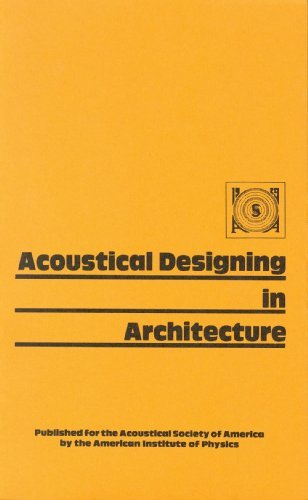 9780883182673: Acoustical Designing in Architecture