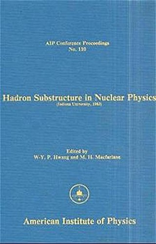 9780883183090: Hadron Substructures in Nuclear Physics