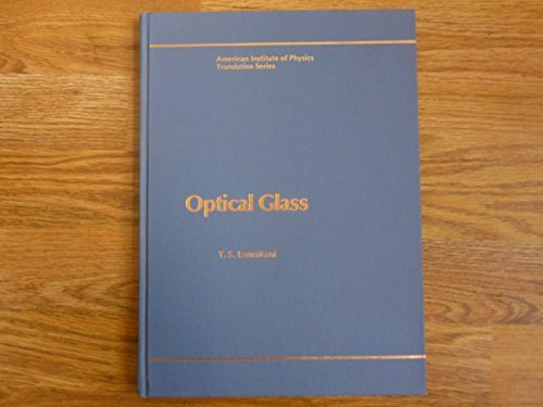 Optical Glass (AIP Conference Proceedings (Numbered))