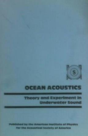 9780883185278: Ocean Acoustics: Theory and Experiment in Underwater Sound