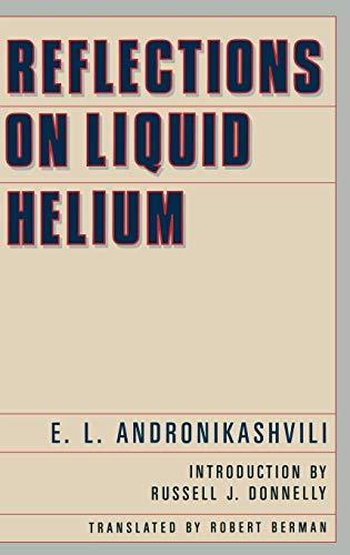 Reflections of Liquid Helium (Translation Ser.): Andronikashvili, E. L.;
