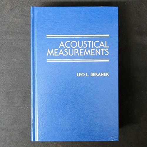 9780883185902: Acoustical Measurements