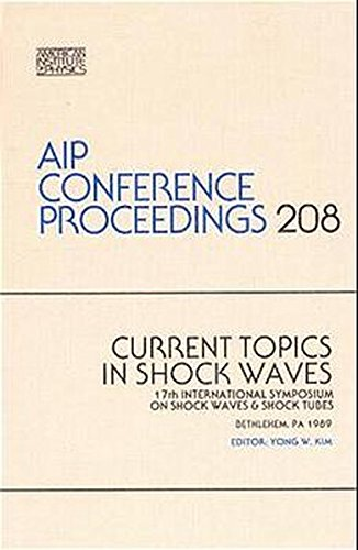 9780883187760: Current Topics in Shock Waves (AIP Conference