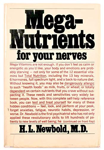 9780883260951: Mega-nutrients for your nerves
