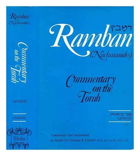 9780883280065: Ramban: Nachmanides Commentary on the Torah : Translated and Annotated: Bereishis/Genesis