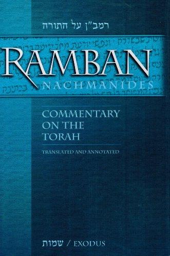 9780883280072: Ramban:Nachmanides:Commentary on The Torah: Exodus