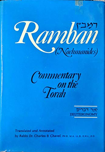 9780883280102: Ramban: Nachmanides Commentary on the Torah: Deuteronomy