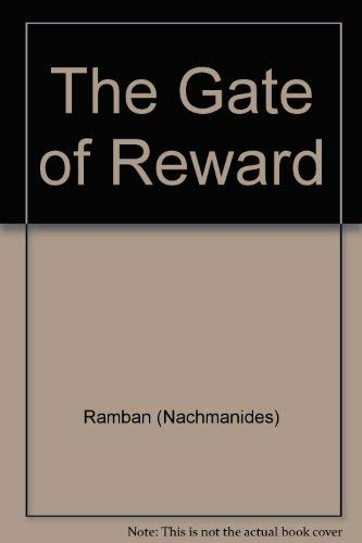 9780883280249: Ramban (Nachmanides): The Gate Of Reward