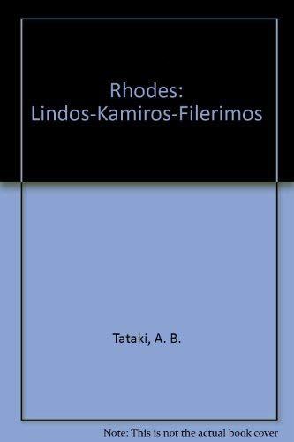 9780883323113: Rhodes: Lindos-Kamiros-Filerimos