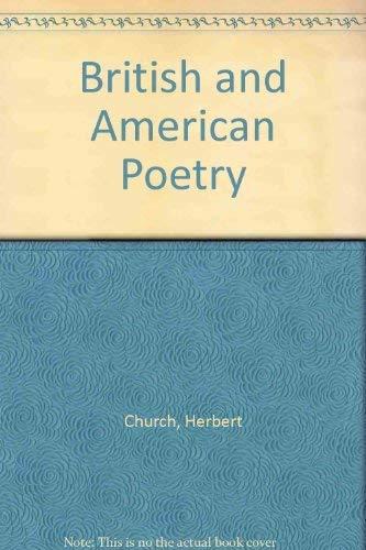 British and American Poetry: Church, Herbert