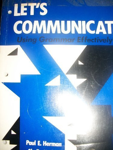 9780883341230: Let's Communicate Using Grammar Effectively