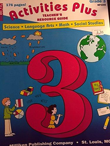 9780883353967: Activities Plus Teacher's Resource Guide Grade 3