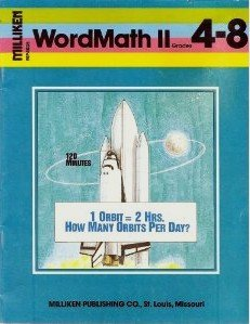 9780883355343: WordMath II: Extra-Numeral Problems and Problems with Hidden Numbers (Grades 4-8)