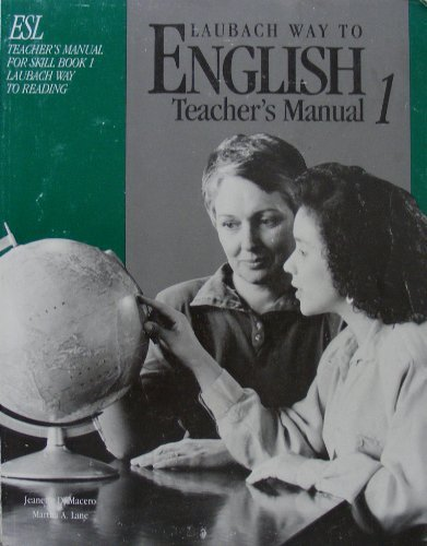 9780883363911: Laubach Way to English Teachers Manual 1