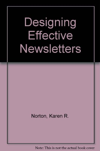 9780883368947: Designing Effective Newsletters