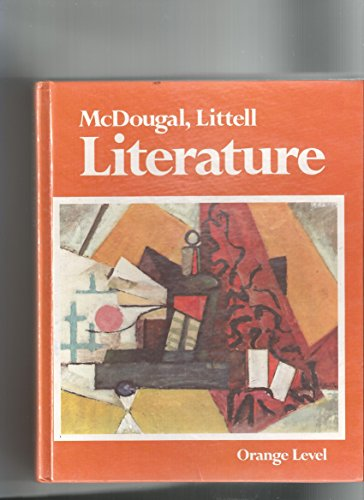 9780883432679: McDougal, Littell literature: Orange level