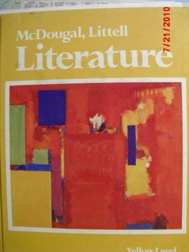 9780883432693: Title: McDougal Littell literature yellow level American