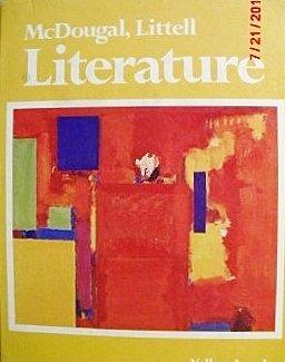 9780883432693: McDougal, Littell literature, yellow level: American literature