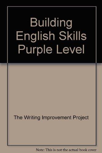 9780883434727: Building English Skills Purple Level
