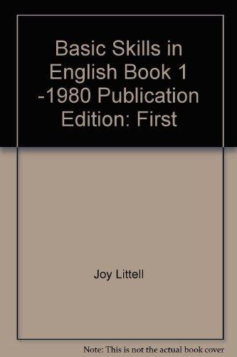 9780883437605: Basic Skills in English ( book 3)