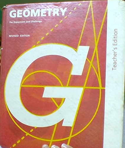 9780883439173: Geometry for Enjoyment and Challenge, Revised Teacher's Edition