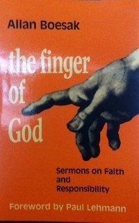 9780883441350: The Finger of God: Sermons on Faith and Responsibilty (English and Afrikaans Edition)