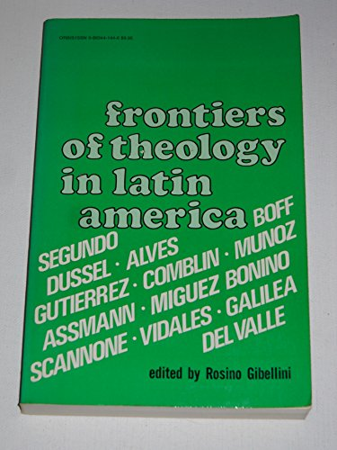 9780883441442: Frontiers of Theology in Latin America