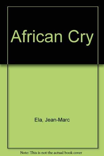 African Cry: Jean-Marc Ela