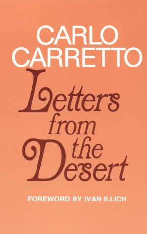 9780883442807: Letters from the Desert