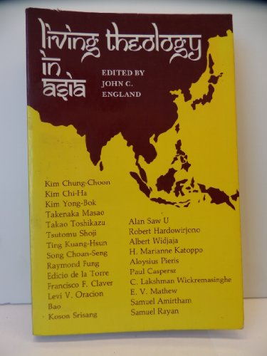 9780883442982: Living theology in Asia