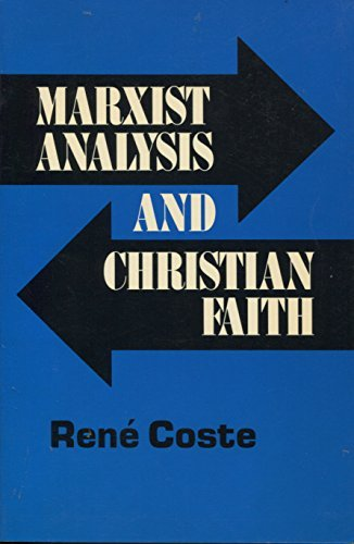 9780883443422: Marxist Analysis and Christian Faith (English and French Edition)