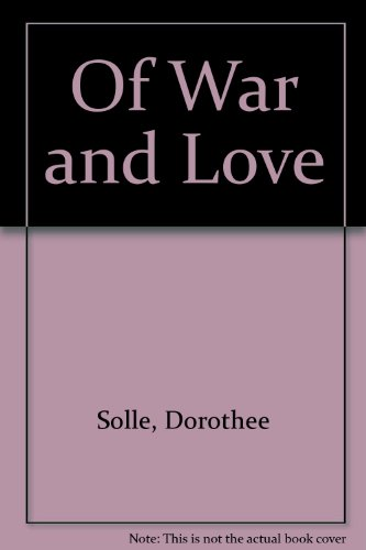 9780883443507: Of War and Love (English and German Edition)