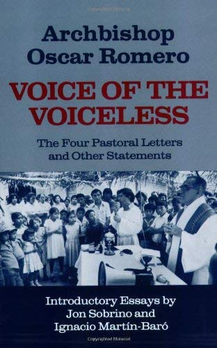 9780883445259: Voice of the Voiceless: The Four Pastoral Letters and Other Statements (English and Spanish Edition)