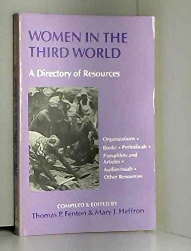 9780883445303: Women in the Third World: A Directory of Resources