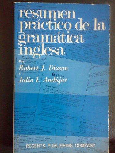 Resumen Practico De LA Gramatica Inglesa
