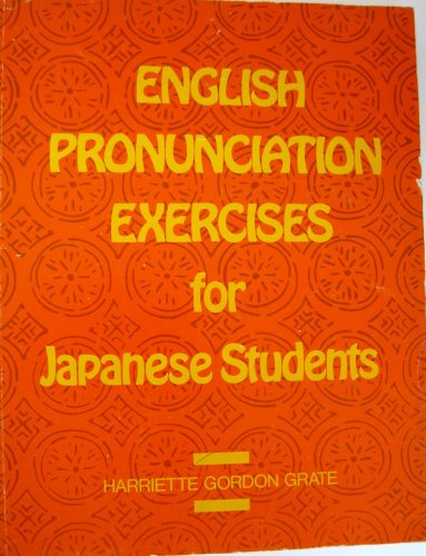 9780883452097: English Pronunciation Exercises for Japanese Stude