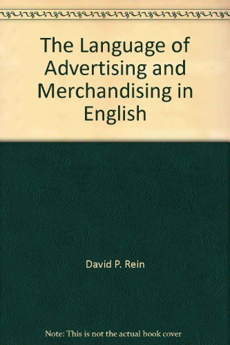9780883453537: The Language of Advertising and Merchandising in English