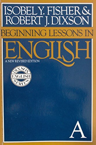 9780883455302: Beginning Lessons in English, Book A