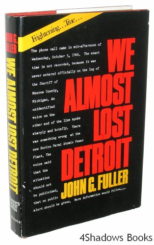 9780883490709: We Almost Lost Detroit