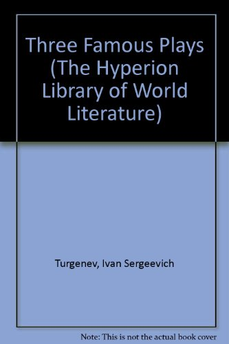 9780883555217: Three Famous Plays (The Hyperion Library of World Literature) (English and Russian Edition)