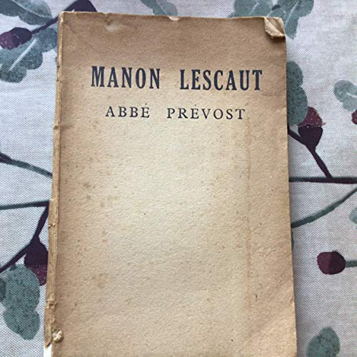 9780883556009: Manon Lescaut (The Hyperion library of world literature) (English and French Edition)